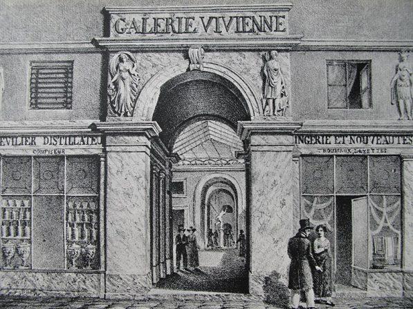 Galerie Vivienne 1820 (1)