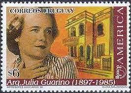 Luisa Guarino Sello Postal